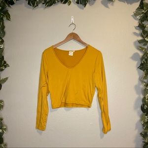 Live In The Moment Long Sleeve Top Yellow